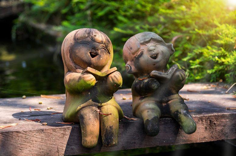 konsthantverk lerfigurer barn